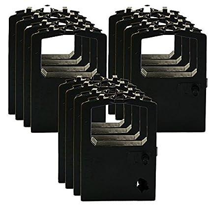 OKI Black Ribbon Cartridge - Cinta de impresoras matriciales ...