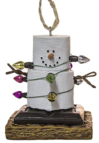 (S'Mores Wrapped Up In Lights Christmas/ Everyday Ornament)