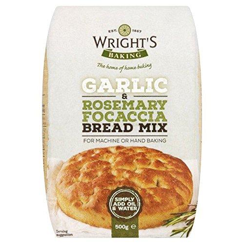 Wright's Garlic & Rosemary Focaccia Bread Mix - 500g (1.1lbs) ()
