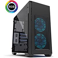 Centaurus Polaris 4T8 Gaming PC - Intel i7-8700K 4.6GHz 6-Core, 32GB RAM, 2x Nvidia GTX 1080 8GB SLI, 500GB SSD + 2TB HDD, Liquid Cooled, Windows 10, Tempered Glass, WiFi. 4K Ready Gaming PC