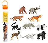Safari Ltd. TOOB – Endangered Species Land Animals – Realistic Hand Painted Toy Figurine Model – Quality Construction from Phthalate, Lead and BPA Free Materials – For Ages 3 and Up