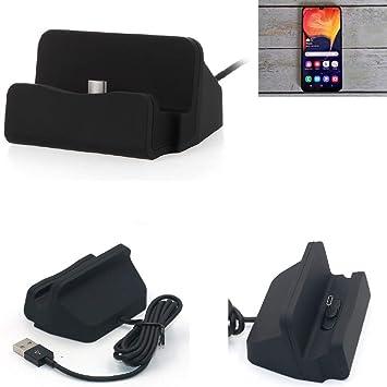 K-S-Trade® Dock USB para El Samsung Galaxy A50, Negro ...