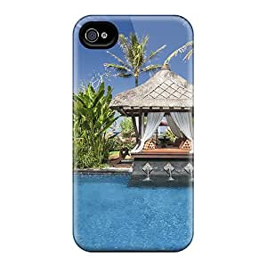 Ultra Slim Fit Hard AMGake Case Cover Specially Made For Iphone 4/4s- Dream Pool