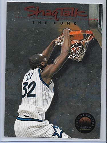 Dunk Premium - 1993-94 Skybox Premium Basketball Shaq Talk