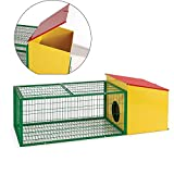 Flyline Rabbit Guinea Pig House Cage Hutch Run Pen 60302