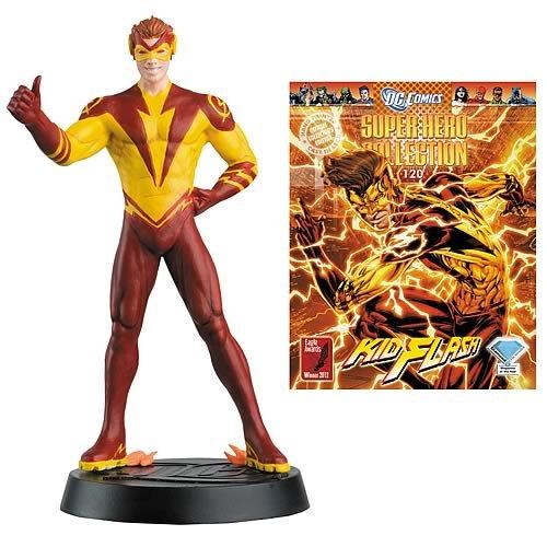 DC Superhero Kid Flash Collector Magazine with Figure