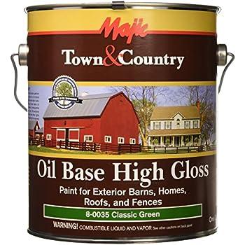 Yenkin Majestic Paint Ob Bhrf 8 0033 1 Oil Base Gloss Barn