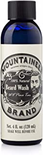 product image for Beard Wash by Mountaineer Brand (4oz) | WV Pine Tar Scent | Premium 100% Natural Beard Shampoo