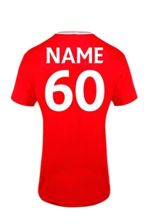 551486e249d Bang Tidy Clothing Men s 60th Birthday Gift Official Liverpool Personalised  Football Shirt GIFT BOX Red S  Amazon.co.uk  Clothing