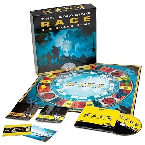 The Amazing Race DVD Board Game by Pressman