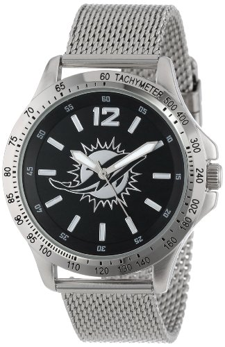 Miami Dolphins Fan Series Watch (Game Time Men's NFL-CAG-MIA