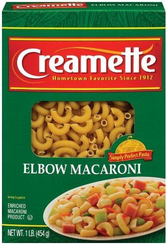 Creamette Elbow Macaroni Pasta, 16 Oz (Pack of 5)