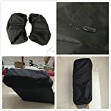 TCMT New Nylon Waterproof Lid Covers Audio Speaker Lids For Harley Touring Saddlebags