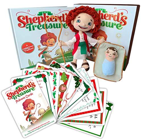 (Sleeping Baby The Shepherd's Treasure Book/Doll Set and Advent)