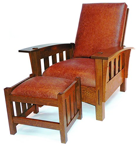American Made Patio Furniture (Build-Your-Own Bow Arm Morris Chair Plan - American Furniture Design)
