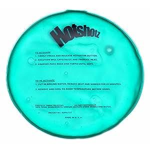 "Hotshotz Unisex-Adult Instant Reusable Heat Pack Round Warmer 10"" Green"