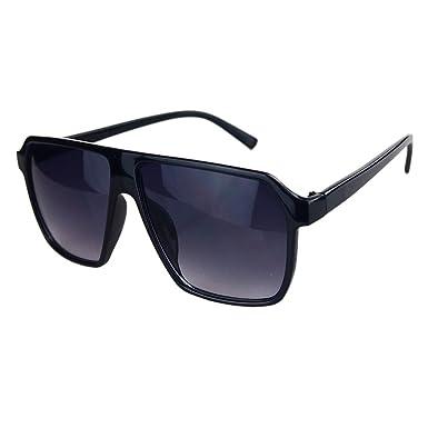 Amazon.com: Fashion Retro Thick Big Frame Eyeglasses Women\'s Men\'s ...