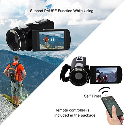 "Camcorder Video Camera Full HD 1080P 24.0MP Digital Camera 18x Digital Zoom 2.7"" LCD with Wide Angle Close-up Lens Camcorder Video Camera Full HD 1080P 24.0MP Digital Camera 18x Digital Zoom 2.7″ LCD with Wide Angle Close-up Lens 51ywf9yIQSL"