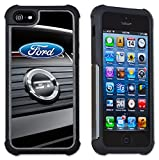 Maximum Protection Case / Cover with Cushioned Corners for iPhone 6 & iPhone 6S - Ford Mustang GT Trunk Logo
