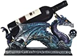 StealStreet SS-G-71430 Blue & Purple Dragon Holding Orb Wine Holder, 14.5″ Review