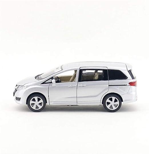 KKD Escala Modelo Simulación Vehículo Monovolumen Honda Odyssey uno y treinta y dos corredera en el lateral de la puerta de extracción de metales de aleación modelo de coche Volver colección de