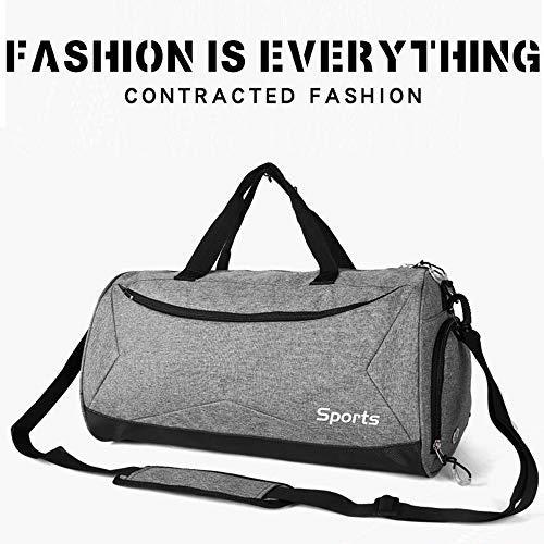 Tamaño Azul de Viaje Deporte y Bolsa Zapatos Mujer Libre para de Compartimento gris Bolsa con Hombre para Teeoff 6pwgqZpx