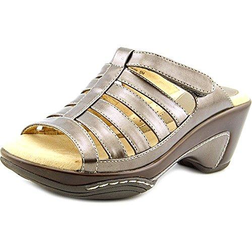Rialto VALENCIA Womens Sandal, Pewter Metallic - 8.5 -