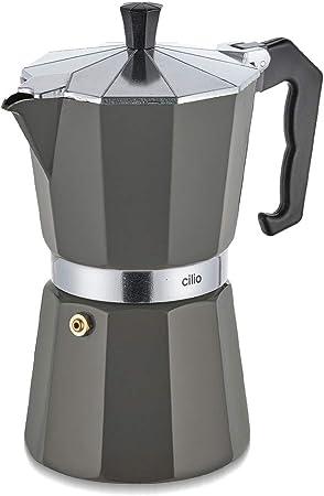 Cilio CLASSICO-KP0000321395 - Cafetera italiana, color beige: Amazon.es: Grandes electrodomésticos