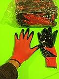 Grease Monkey Large Nitrile Coated Work Gloves 10 Pack