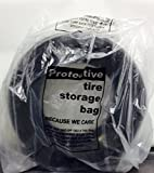 Automotive Interior Protection 41-115 Tire-Mate Roll of 250 Full Sized Heavy Duty Tire Storage Bag