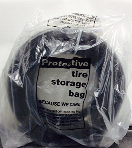 (Automotive Interior Protection 41-115 Tire-Mate Roll of 250 Full Sized Heavy Duty Tire Storage Bag)