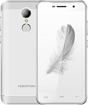 HOMTOM HT37 PRO - Smartphone Libre 4G Android 7.0 (Pantalla HD 5.0