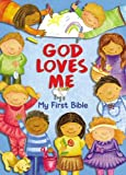 img - for God Loves Me, My First Bible book / textbook / text book