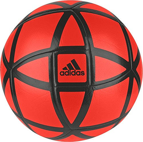 adidas Performance Glider Soccer Ball, Core Black/Solar Red, Size 4 - Red Soccer Ball