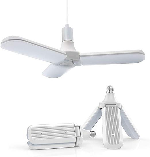 SFOXL LED Luces LED para Garaje, 45W E27 6000K Luces de Techo ...
