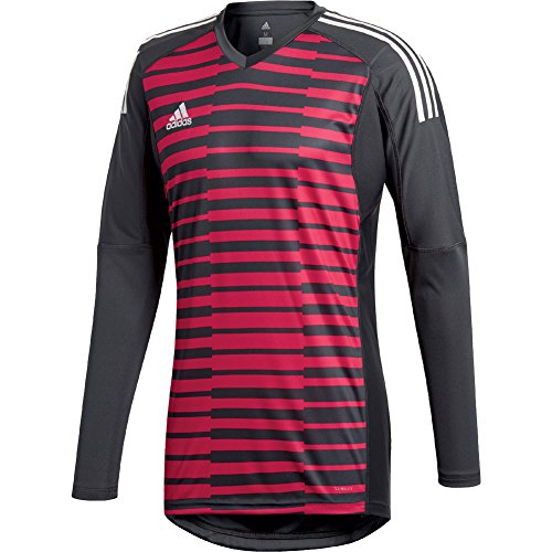 adidas Mens ADIPRO 18 GoalKeeper Jersey Long Sleeve dark grey/unity pink/white For (Graphic Goalkeeping Jersey)