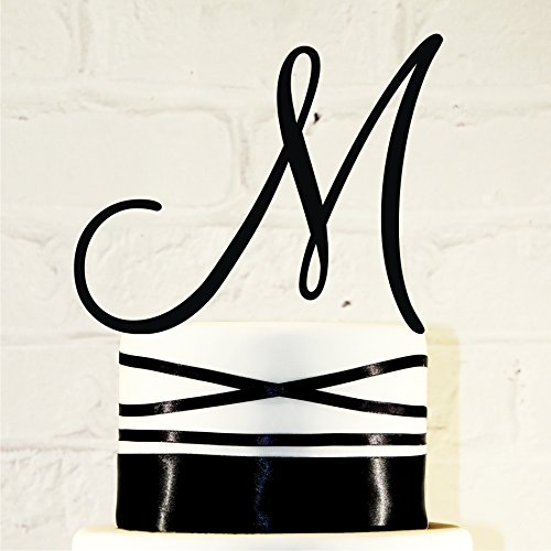 6-inch-monogram-acrylic-wedding-cake-topper-personalized-in-any-letter-a-b-c-d-e-f-g-h-i-j-k-l-m-n-o