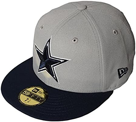 Amazon.com   New Era Dallas Cowboys Omaha II 59Fifty Fitted Hat ... b12ac476a