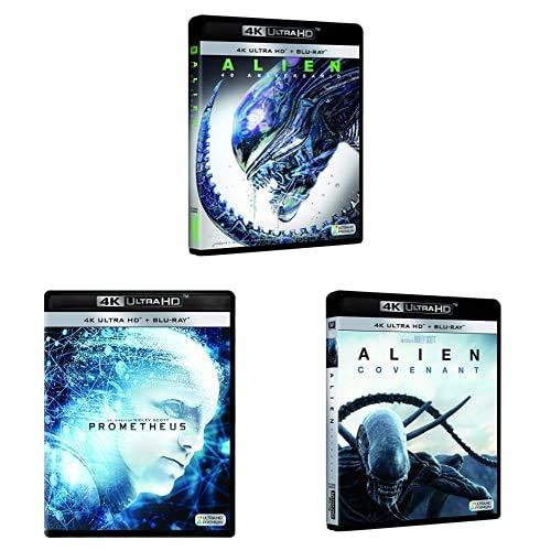 Pack Alien - Incluye: Alien + Prometheus + Alien Covenant Blu-Ray 4k Uhd Blu -ray: Amazon.es: Cine y Series TV