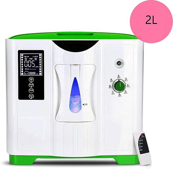 Generador De Concentrador De Oxígeno Portátil Para Automóvil, 2-9l / Min Máquina De Oxígeno Purificador De Aire Casero 90% Para El Hogar Viaje Coche, 34 × 18 × 31 Cm ...