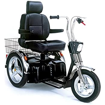Sportster SE Electric Recreational Mobility Scooter - Single Seat with batteries