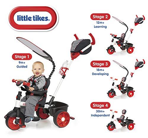 Triciclo Esporte 4 Em 1 Vermelho Little Tikes Little Tikes Vermelho
