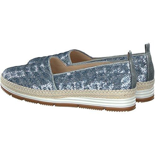 Jeansblau Pantofola Verde Paul