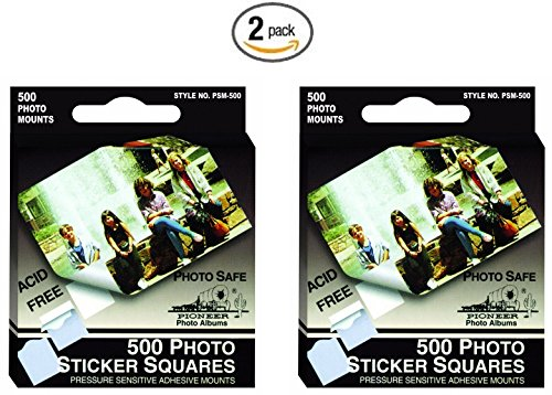 Pioneer Scrapbooking Stickers - Pioneer Photo Albums Psm500 Photo Album Sticker Squares 500 Count