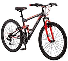 """Many things in life seem to hold us back. There are always errands to run, dishes to do, bills to pay, and it all gets in the way of what you really want to do: ride. Hop on the 26"""" men's Mongoose Status 2.2 mountain bike for a ride that won'..."""