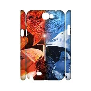 GameofThrones HILDA7053688 3D Art Print Design Phone Back Case Customized Hard Shell Protection Samsung Galaxy Note 2 N7100