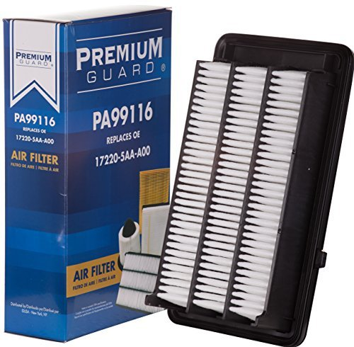 PG Air Filter PA99116 | Fits 2016-19 Honda Civic, 2017-18 CR-V