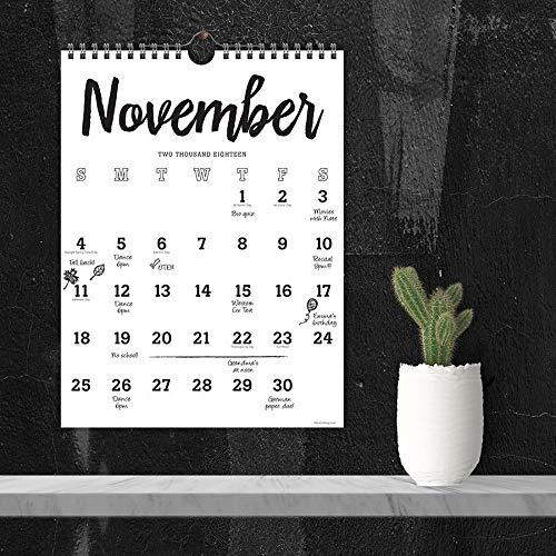 Calendars TF Publishing Multi-Colored Black & White
