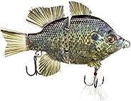 "4.5"" RF Gillman Glide Bait Bass Musky Striper Fishing Big Lure Multi Jointed Shad Trout Kits Slow Sinking"