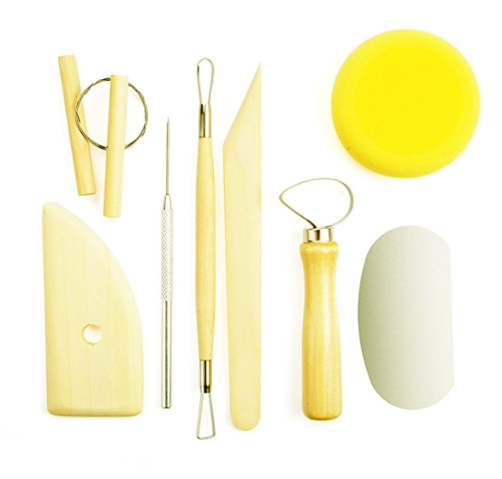 DIY Clay Modeling Tools Set for Pottery Sculpture Tools Handmade Clay Sculpture 8 PCS/set & Kit NationinFashion